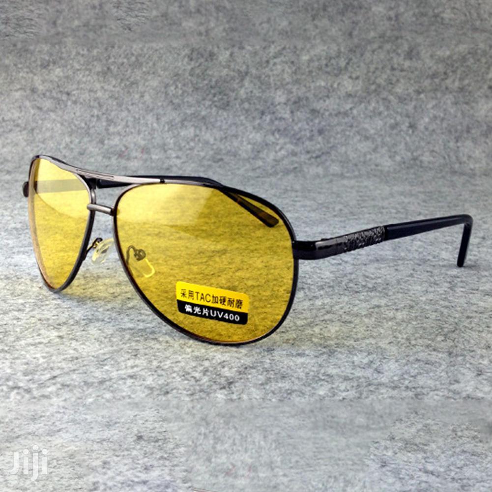 Polarized Night Driving Antiglare Sunglasses Aviators