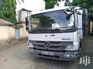 Mercedes Atego Flatbed 2013 White