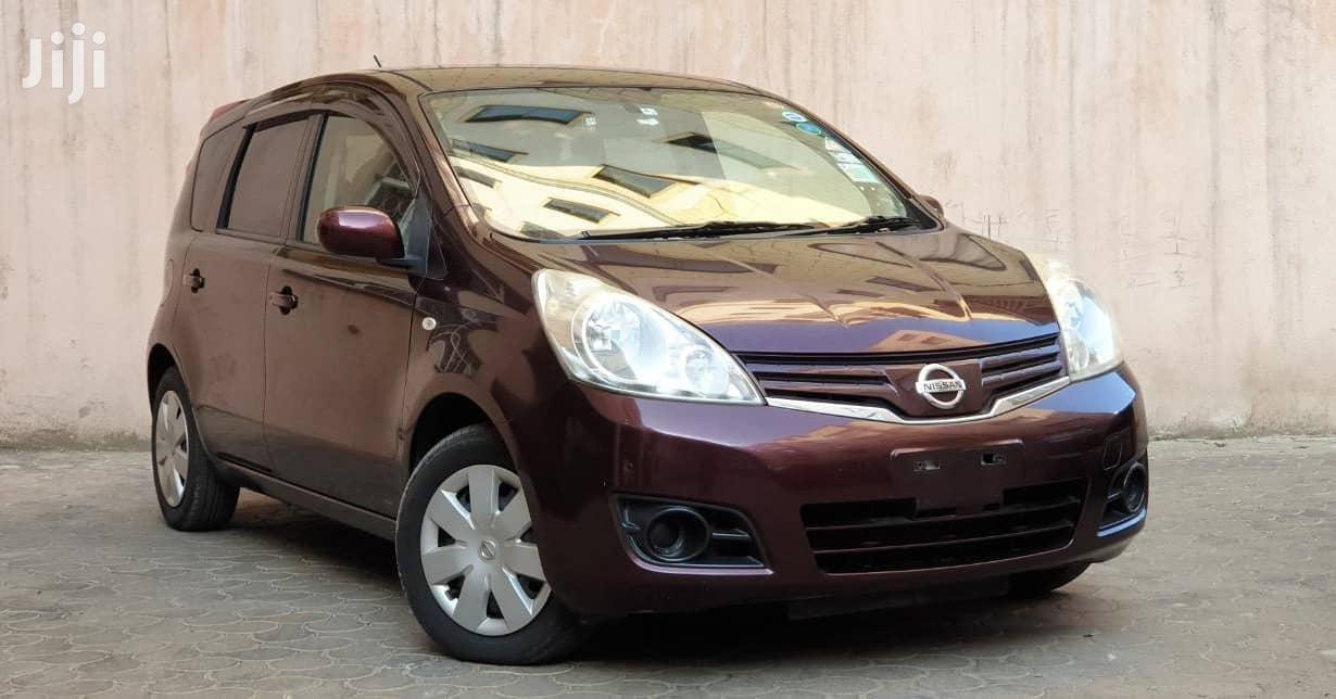 Nissan Note 2012 1.4 Brown