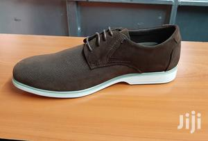 Italy Suede Leather Men Shoes Oxford Casual Classic Sneakers-Brown   Shoes for sale in Nairobi, Nairobi Central