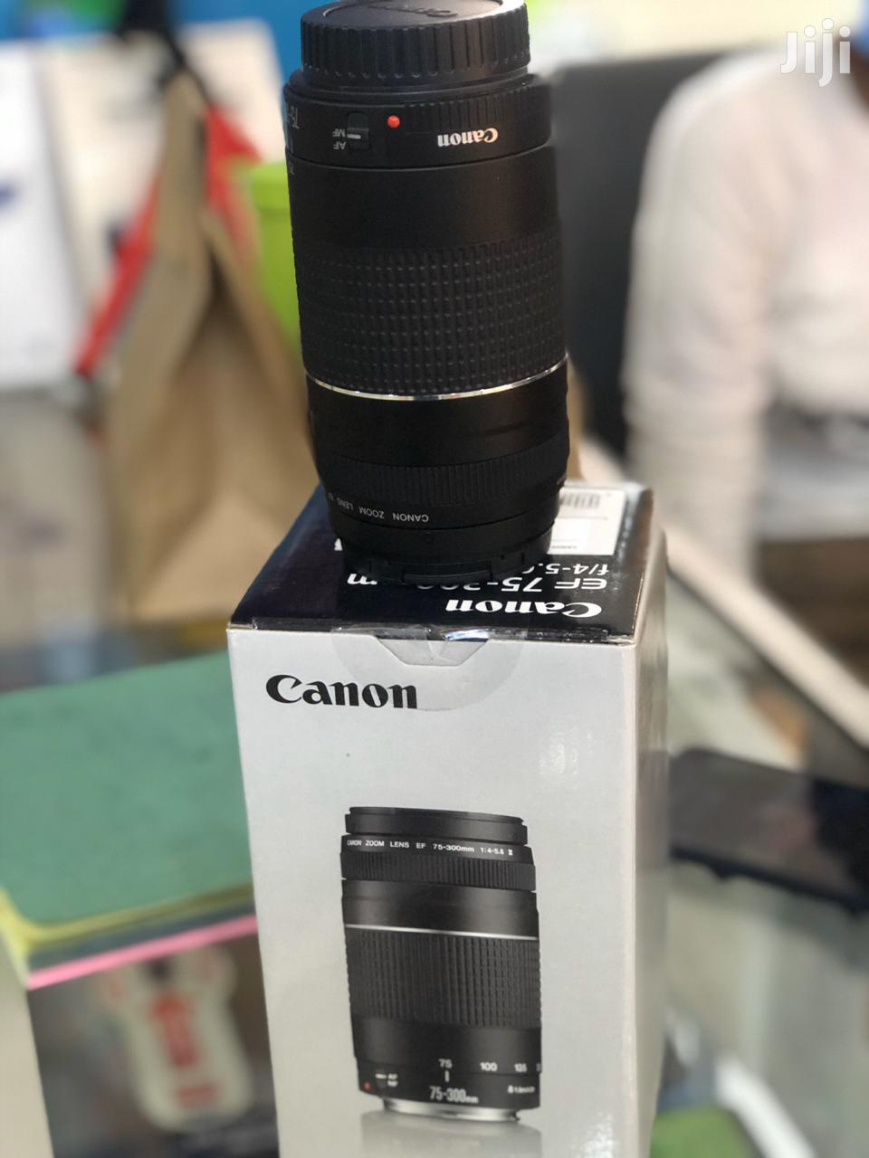 Canon 75-300MM Lens | Accessories & Supplies for Electronics for sale in Nairobi Central, Nairobi, Kenya