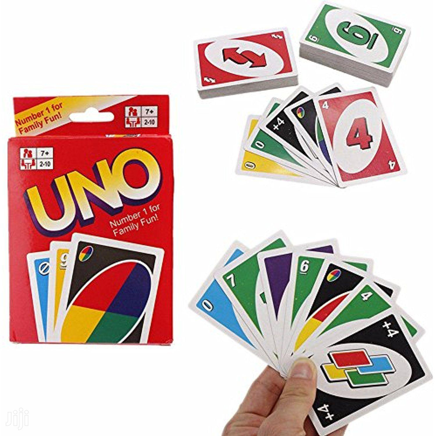 Uno Cards Family Gane