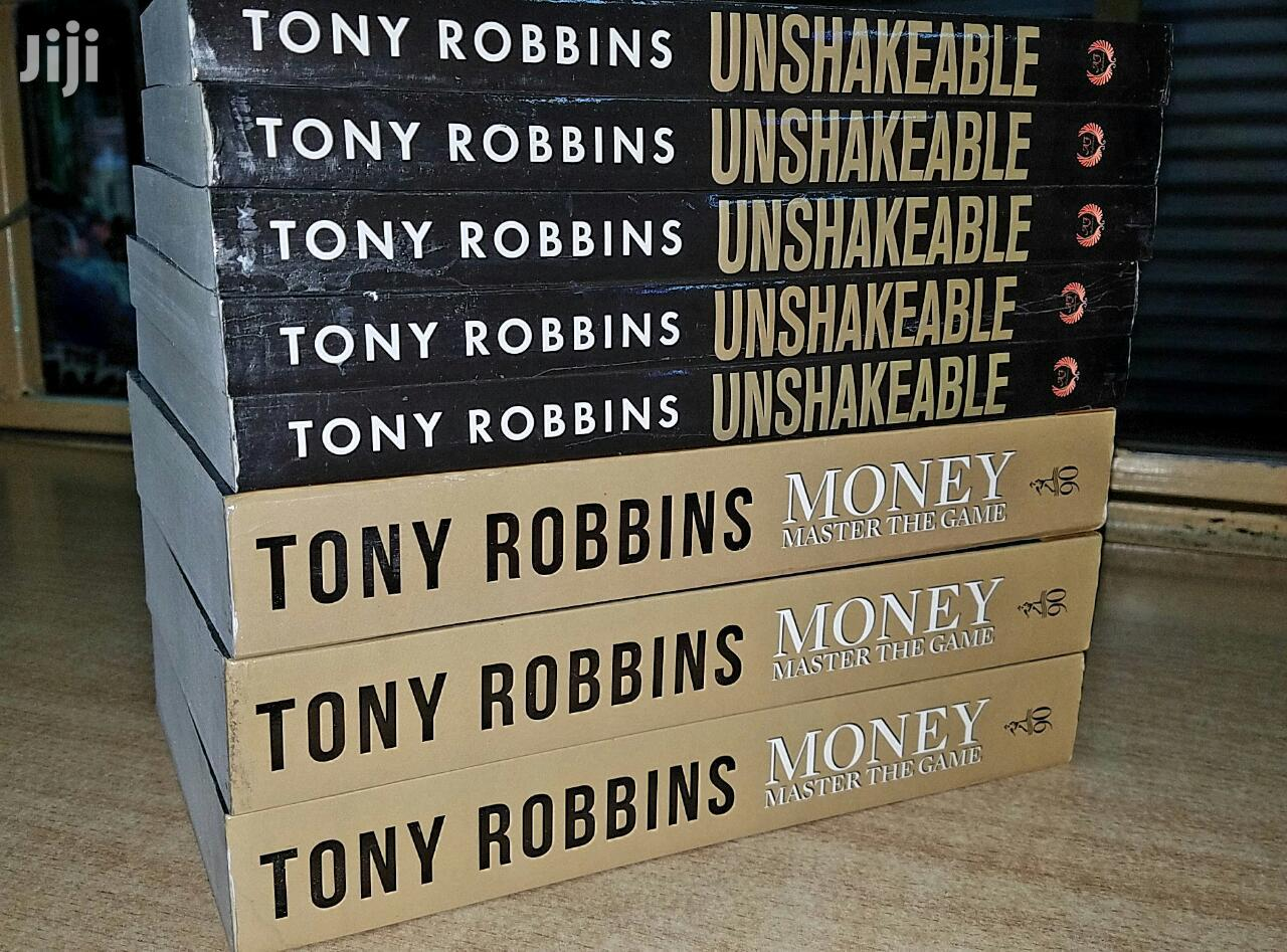 Tonny Robbins Books Available.