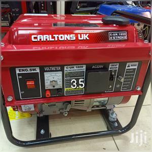 Carltons Uk 3.5kva Generator 4-Stroke | Electrical Equipment for sale in Nairobi, Nairobi Central