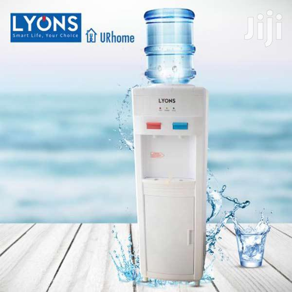 Lyons LM-YT-109 Hot And Normal Free Standing Water Dispenser- White