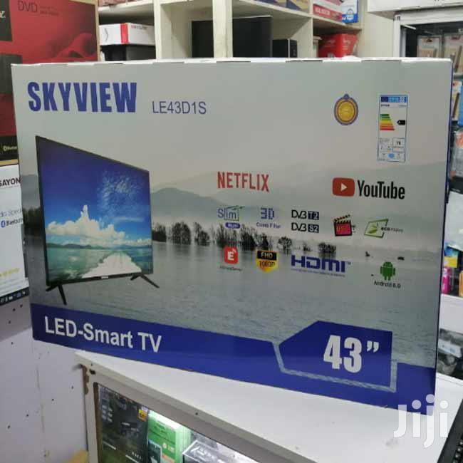 43 Inch Smart Digital Android LED Skyview Television With 24 Months Wa