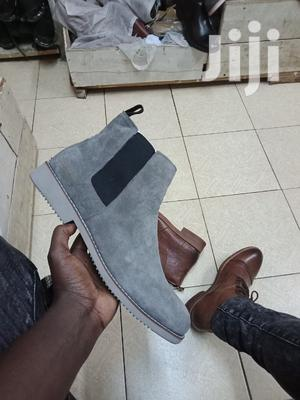 Grey Suede Boots   Shoes for sale in Nairobi, Nairobi Central