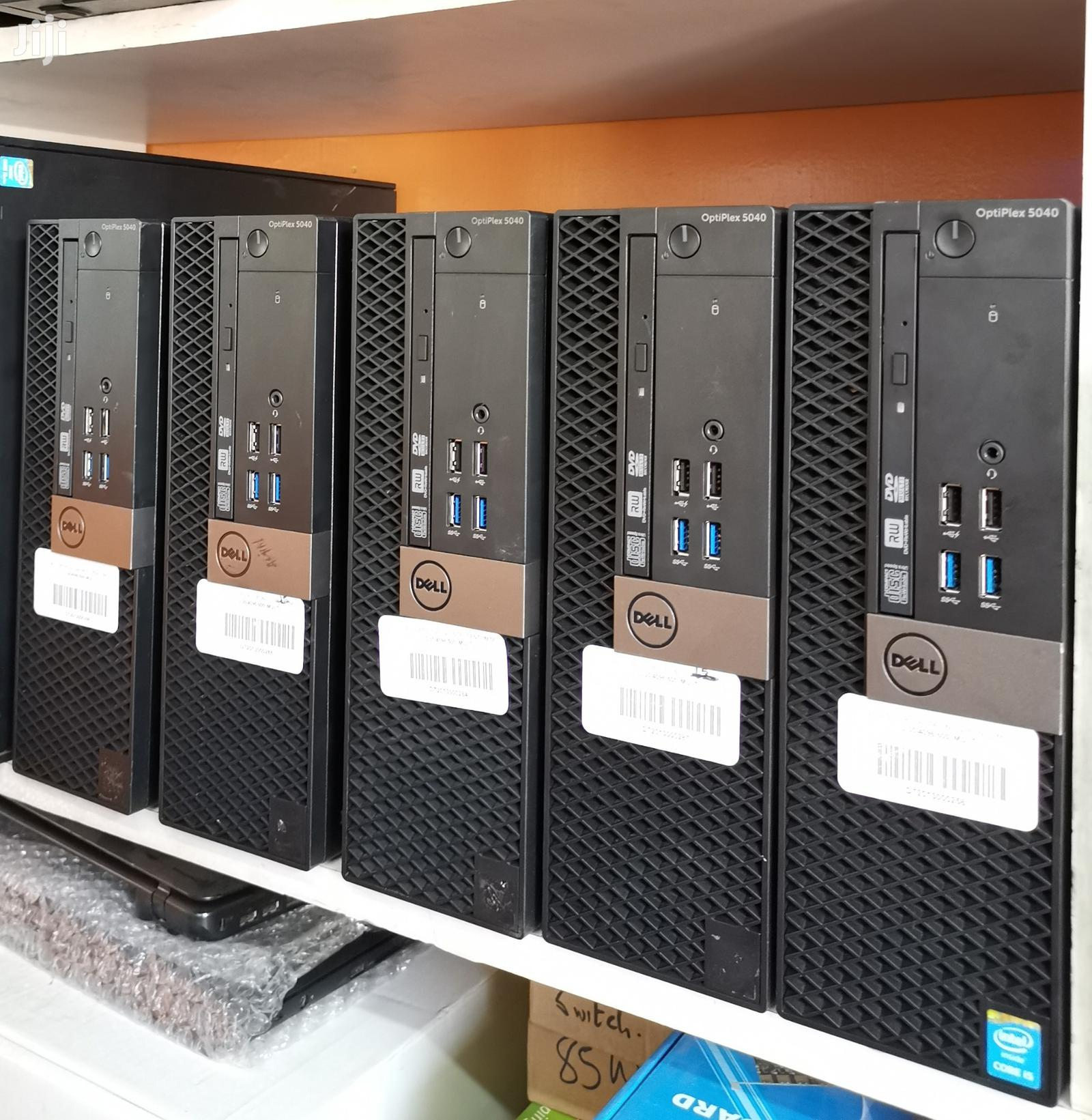 Desktop Computer Dell OptiPlex 5050 4GB Intel Core i5 HDD 500GB | Laptops & Computers for sale in Nairobi Central, Nairobi, Kenya