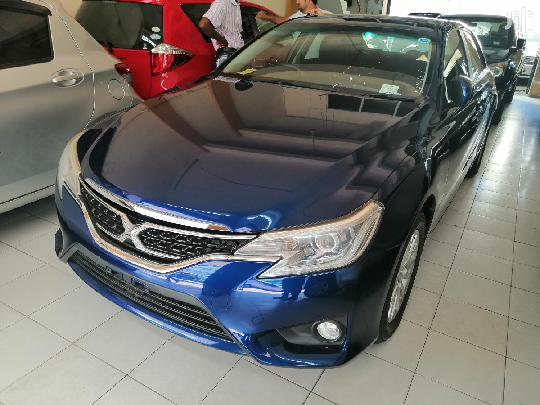 Toyota Mark X 2014 Blue