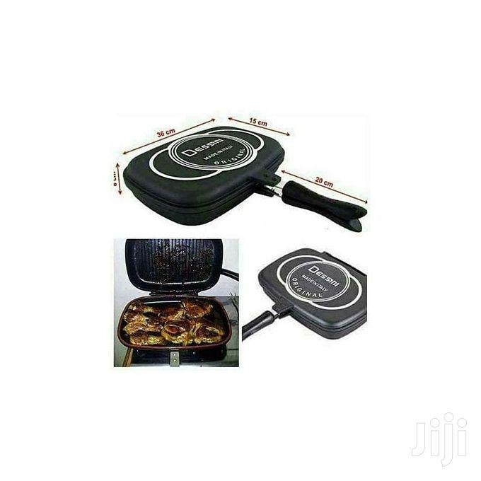 Dessini Double Grill Non-Stick Pressure Pan 36cm