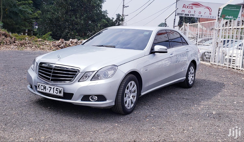 Mercedes-Benz E250 2010 Silver | Cars for sale in Runda, Nairobi, Kenya