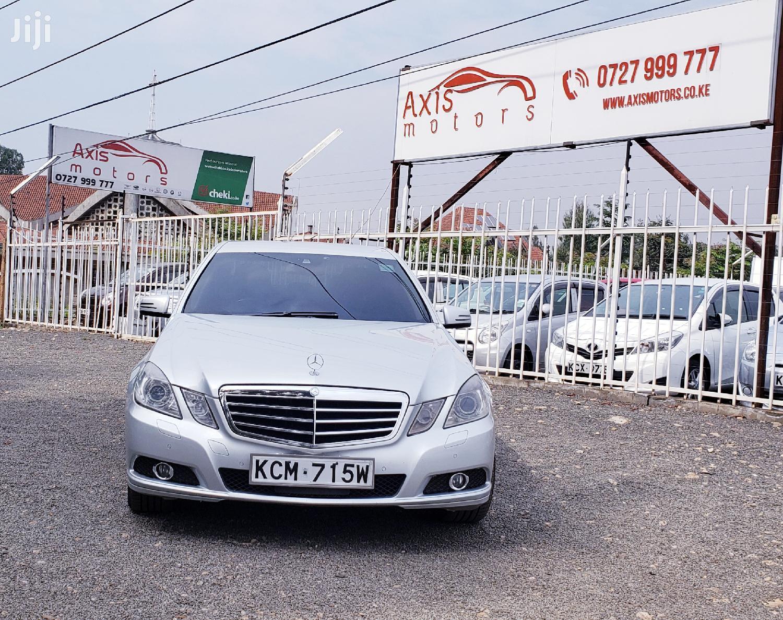 Mercedes-Benz E250 2010 Silver