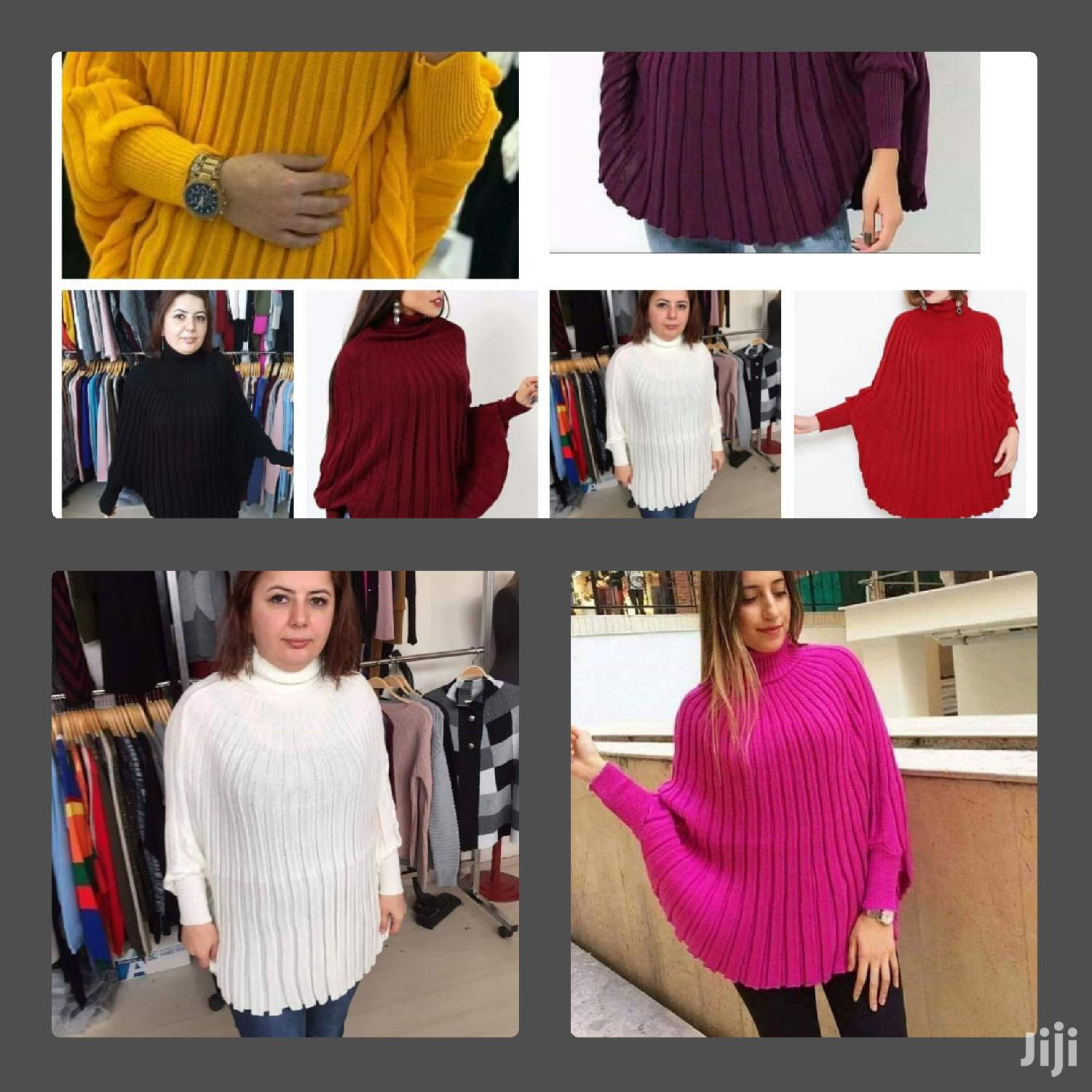 Colorful Poncho Available