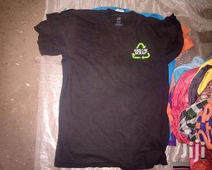 Black Round Neck T-shirt