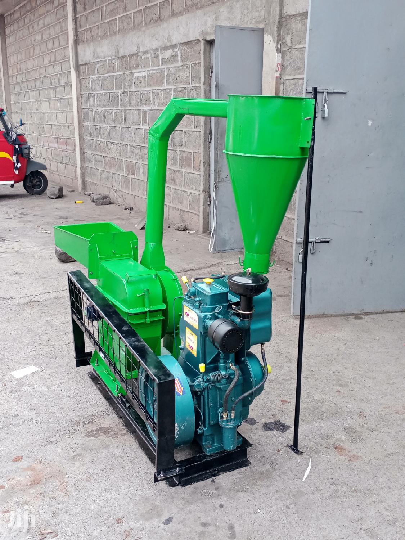 Posho Mill Diesel 10hp Power Line Machine
