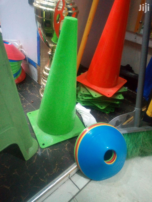 Football Cones(Set Of 12)   Sports Equipment for sale in Nairobi Central, Nairobi, Kenya