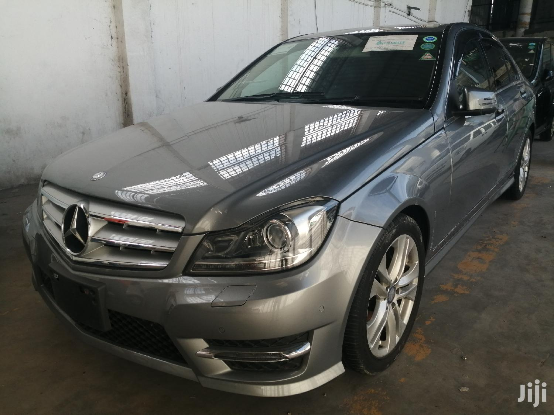 New Mercedes-Benz C200 2013 Gray