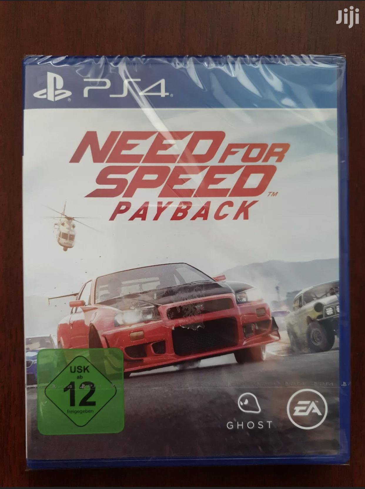 Need for Speed Payback PS4 - Brand New Sealed