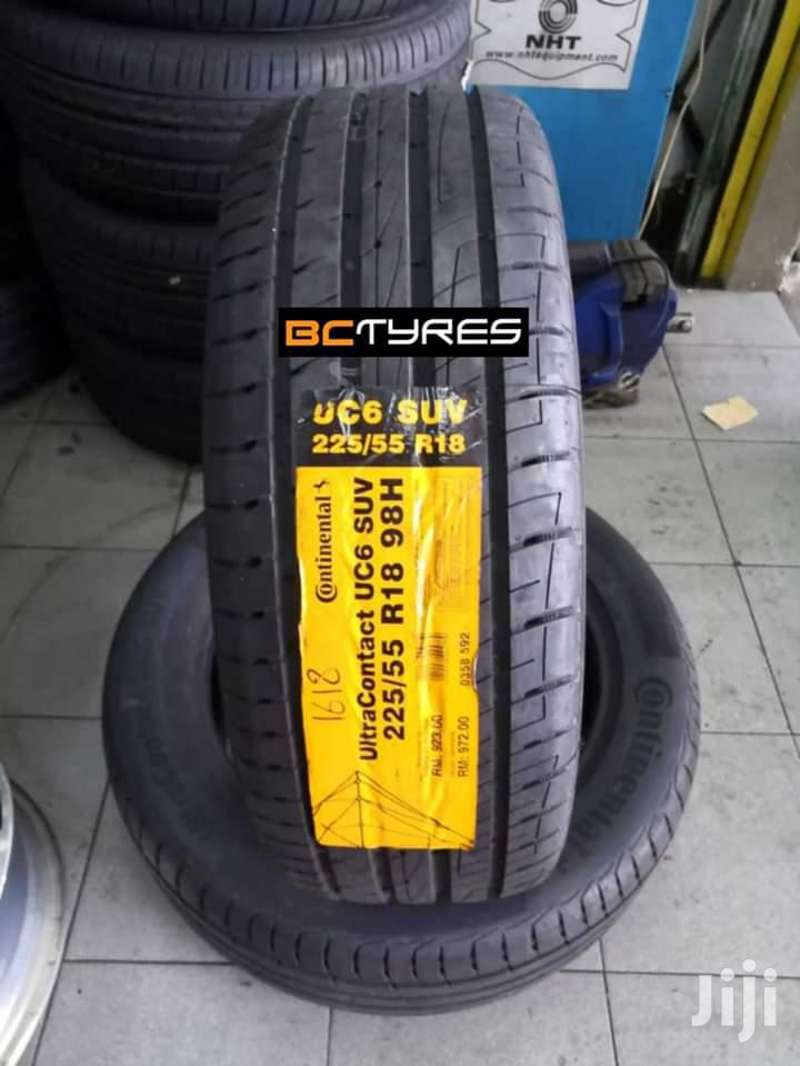 225/55 R18 Continental Tyre