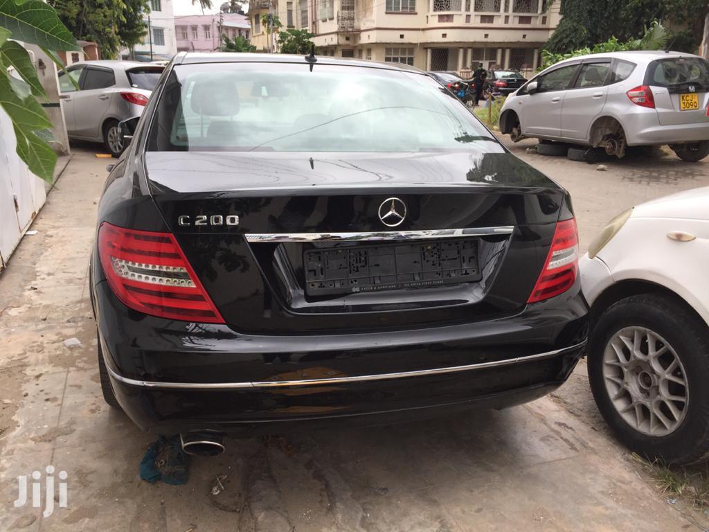 New Mercedes-Benz C200 2013 Black   Cars for sale in Mji Wa Kale/Makadara, Mombasa, Kenya