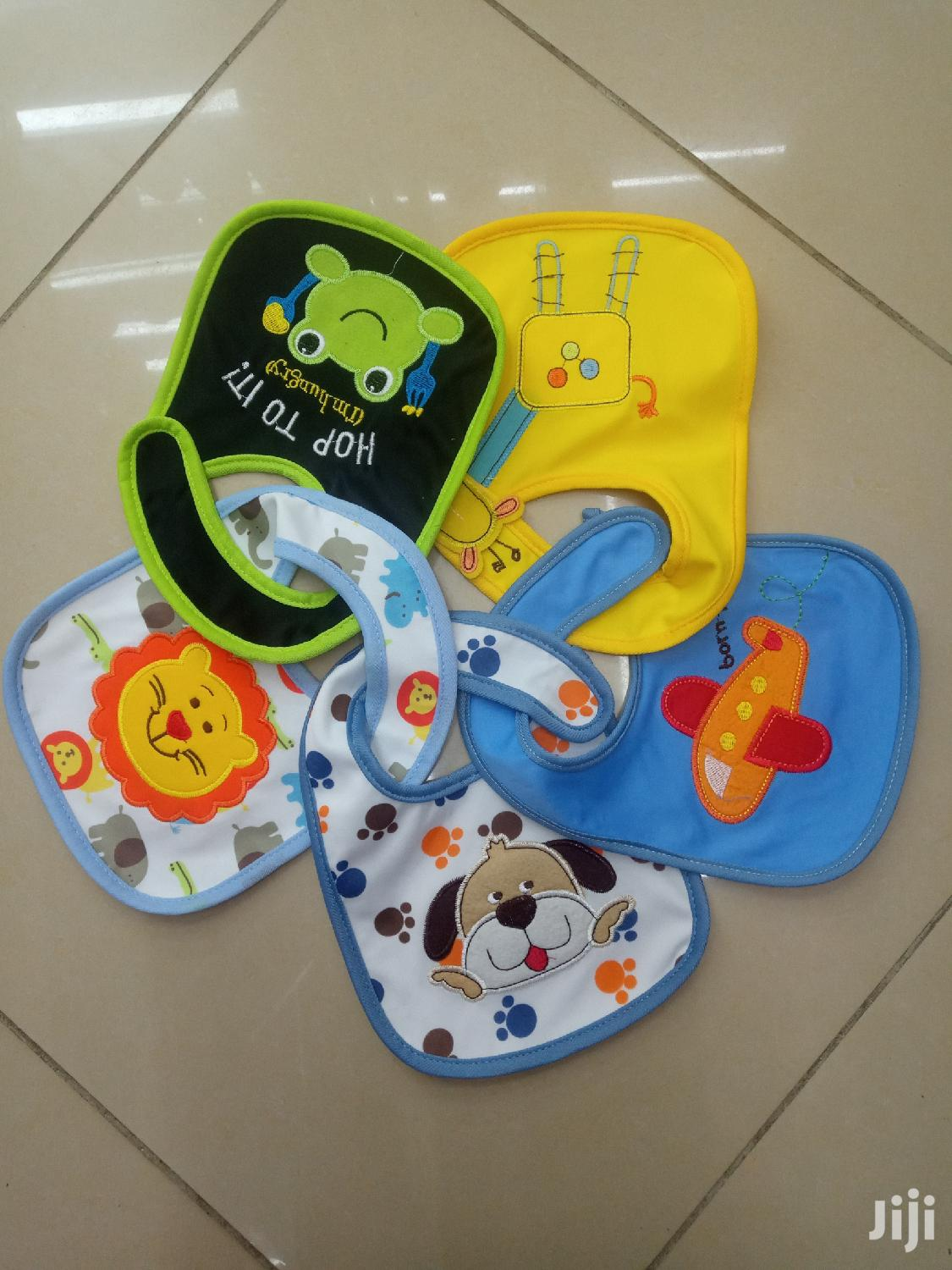 Archive: Colourful 5 Pcs Bib Set