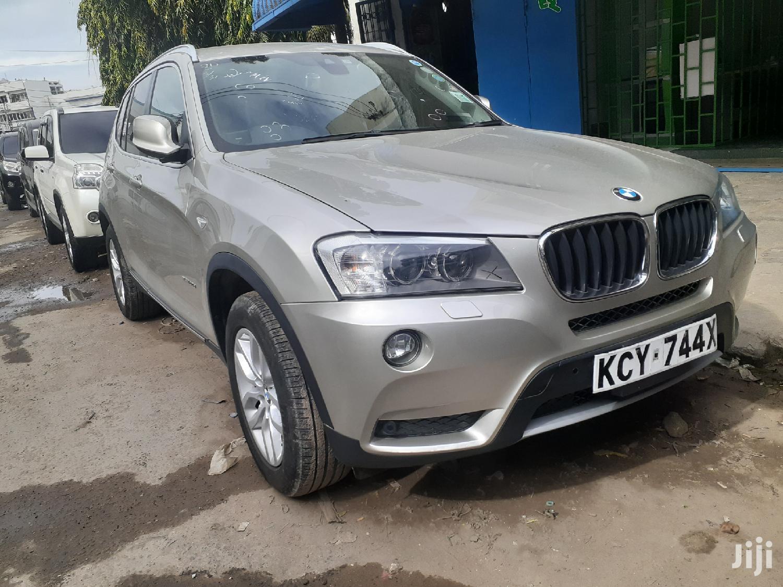 New BMW X3 2013 Gold