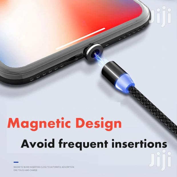 Archive: iPhone Cable With A Magnetic Connector