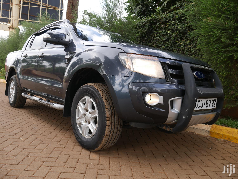 Ford Ranger 2013 Gray