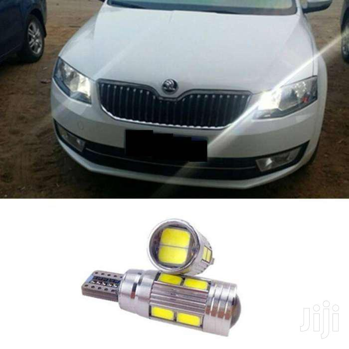 2pcs T10 Wedge Parking LED Bulbs: For Nissan/Vw/Toyota/Landrover/Mazda