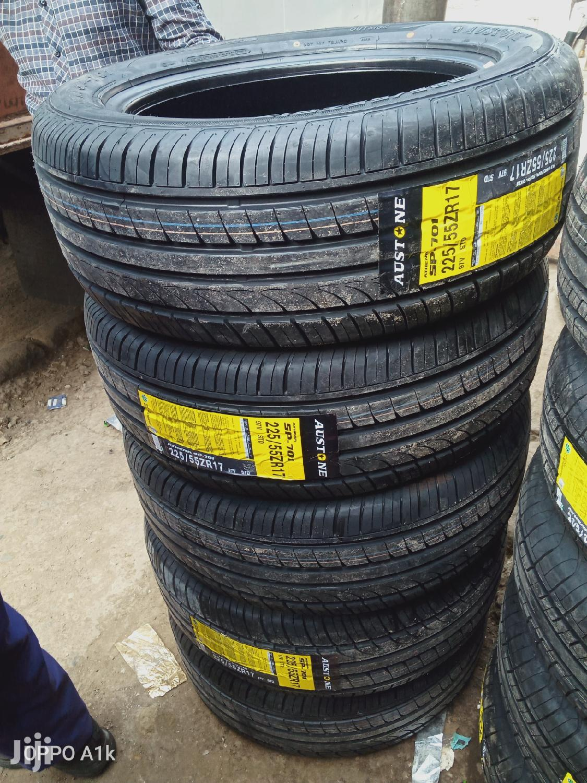 225/55R17 Brand New Austone Tires