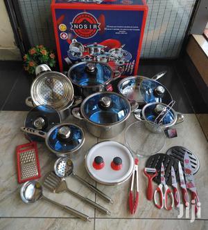 German 30 Pcs Steel Cookware