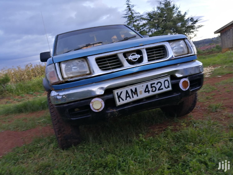 Archive: Nissan Hardbody 2000 Blue