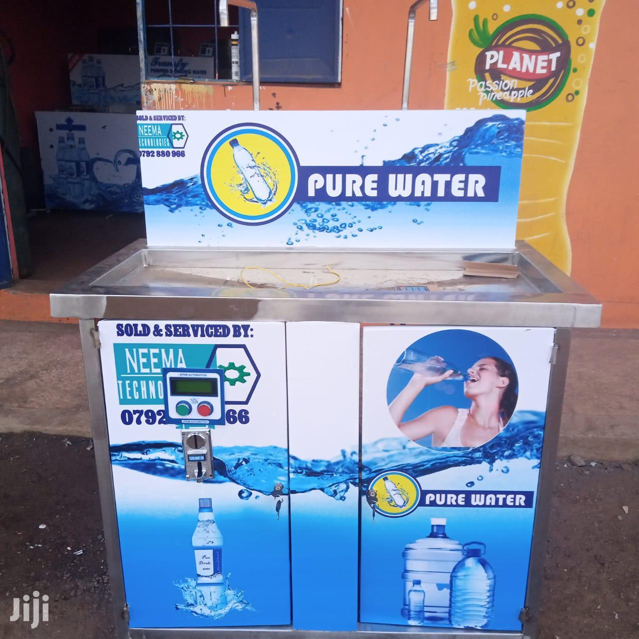 Water Vending Machine With Botle Lincer   Store Equipment for sale in Ruiru, Kiambu, Kenya