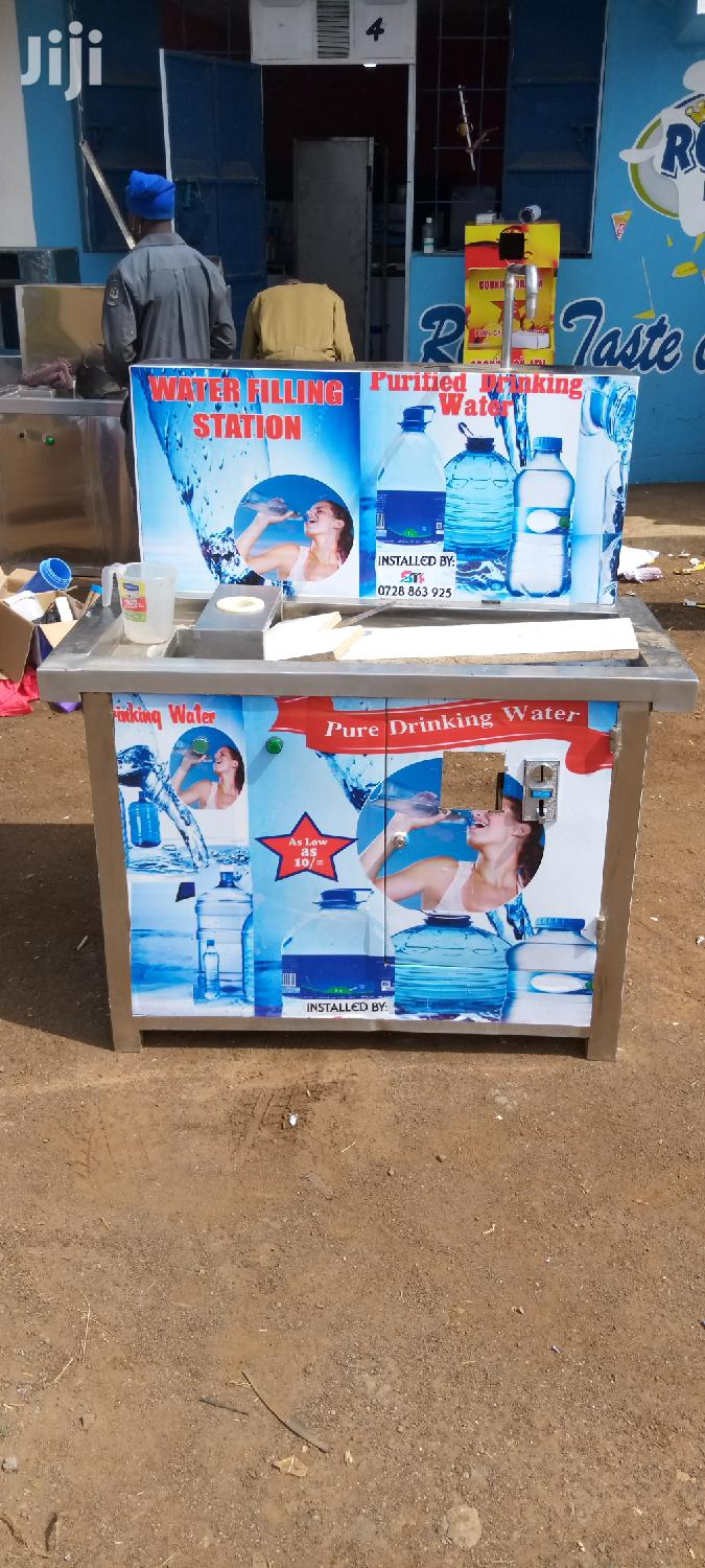 Water Vending Machine With Botle Lincer