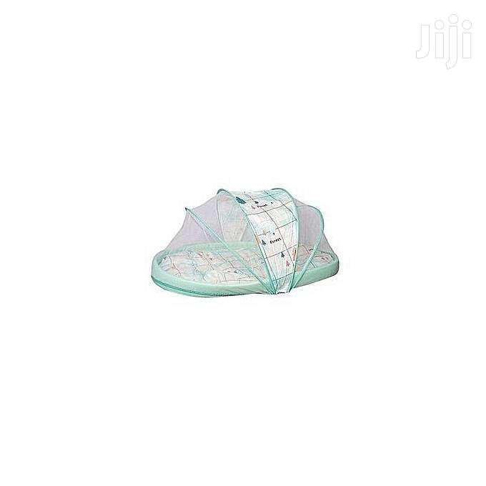 Large Unique New Design Baby Nest / Mosquito Net - Green .
