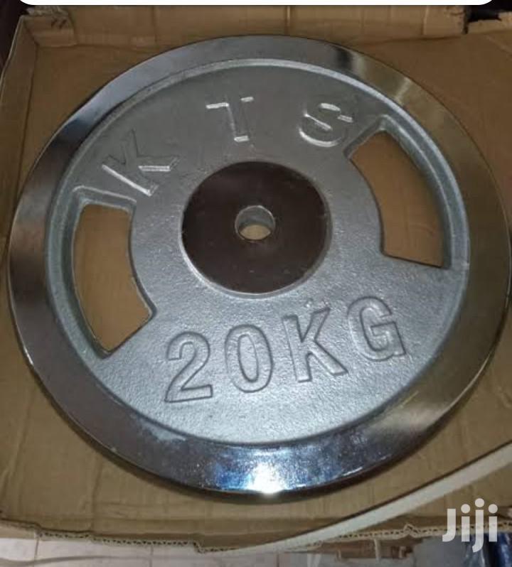 Chrome Weights