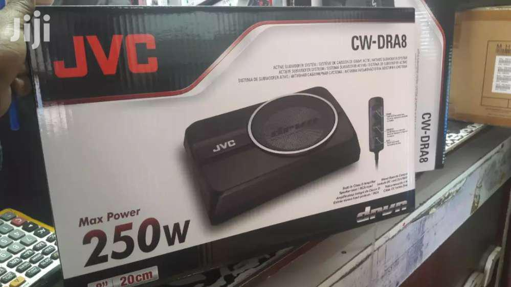 JVC Cw-dra8 Brand New  250 Watts Underseat Subwoofer Brand New In Shop