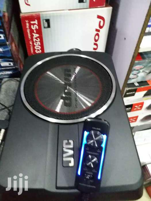 JVC Cw-dra8 Brand New  250 Watts Underseat Subwoofer Brand New In Shop | Vehicle Parts & Accessories for sale in Nairobi Central, Nairobi, Kenya