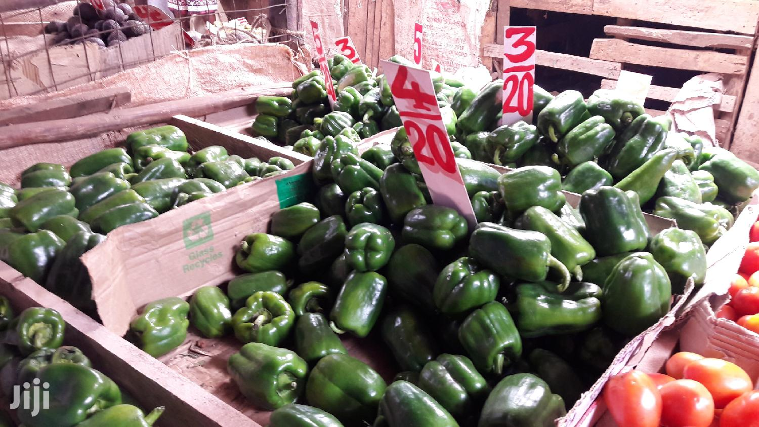 Archive: Green Capsicum