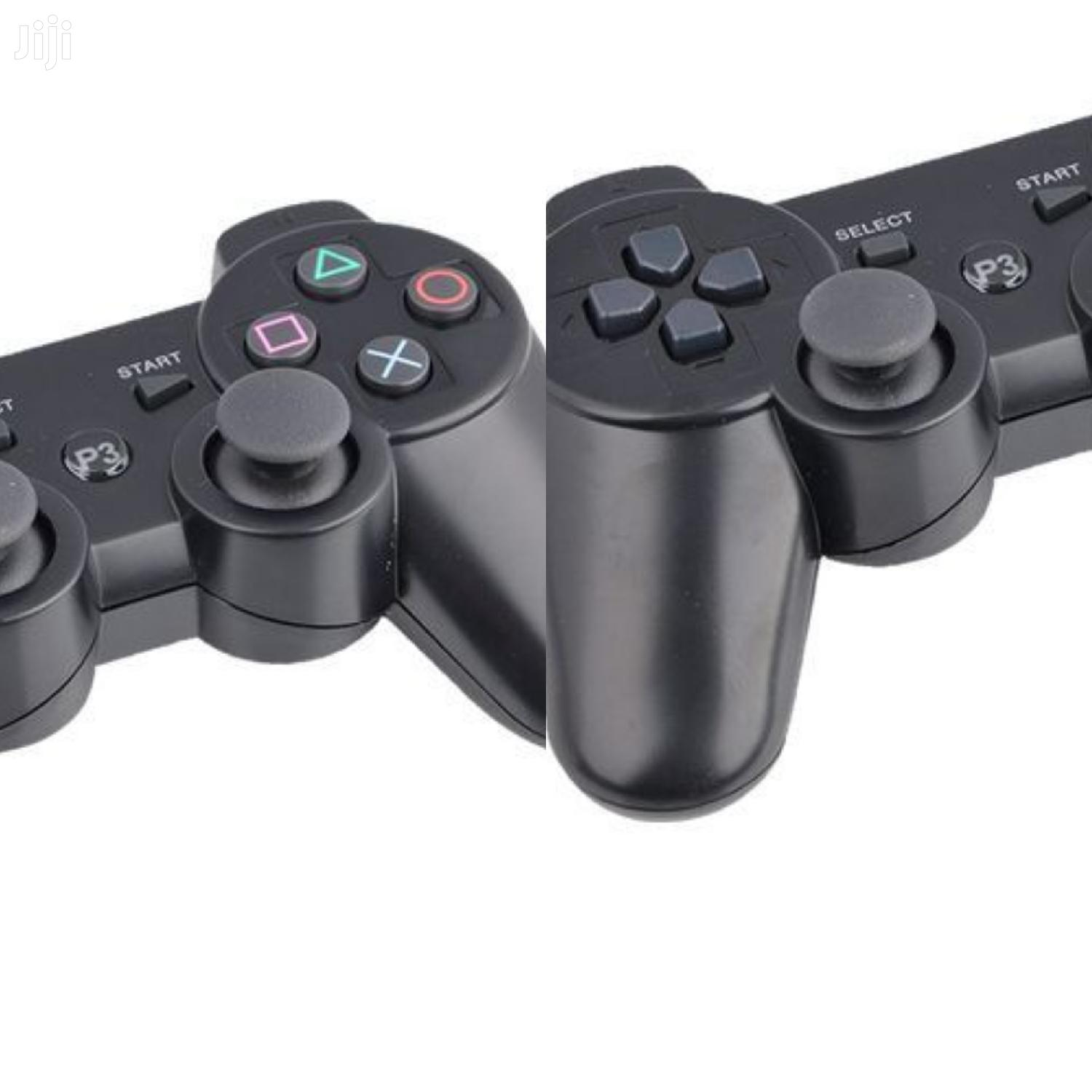 Generic P3 PS3/PC Pad Double PS Shock 3 - Wireless Black