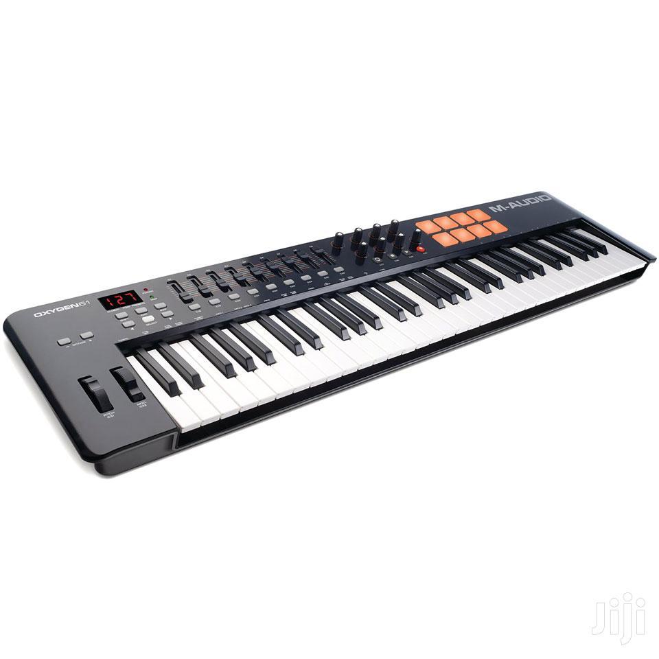 Midi Keyboard 61 Keys, M-audio