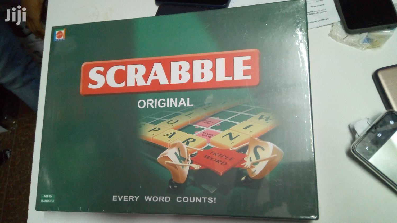 Portable Scramble Board Game
